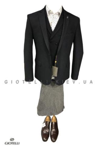 Мужской пиджак с жилетом