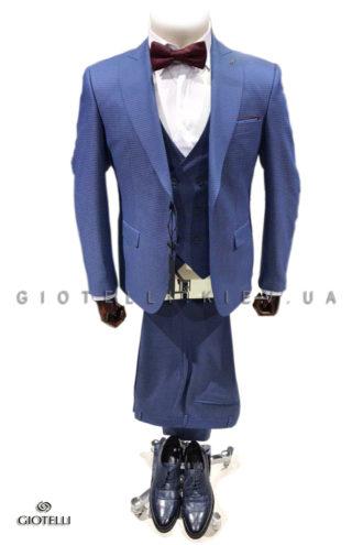 Голубой костюм жениха