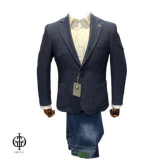 Серый пиджак GIOTELLI